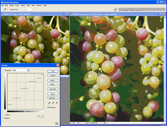 Photoshop - Cool effects using Photoshop curves for photo