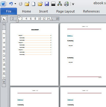 using microsoft word templates