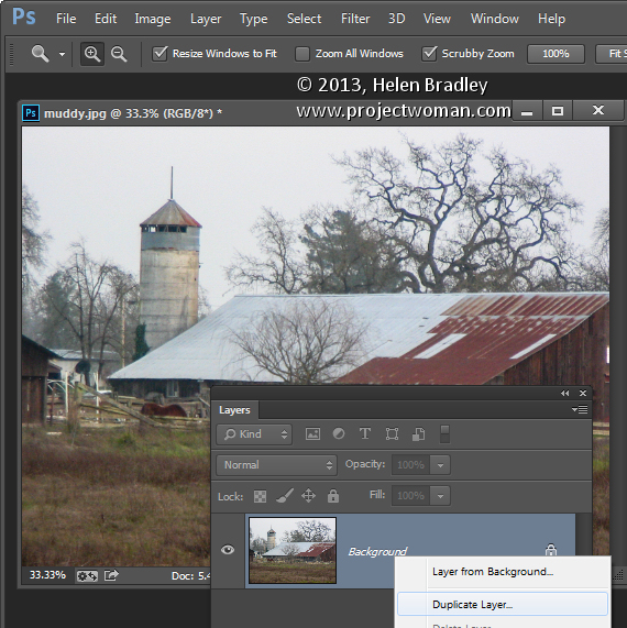 Photoshop: Replace a sky in a photo using Blend IF and without making selections