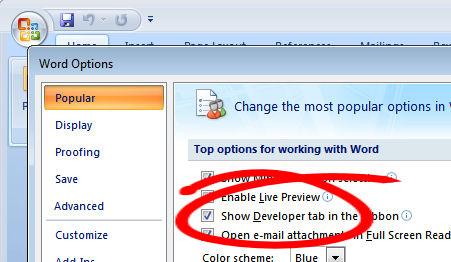 excel 2010 vba open word document