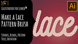 Illustrator for Lunch Make a Lace Pattern Brush