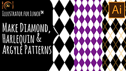 Illustrator for Lunch Create Patterns