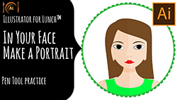 Illustrator for Lunch In Your Face