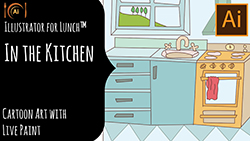 Illustrator for Lunch In the Kitchen