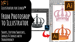 Illustrator for Lunch Using Photoshop Objects in Illustrator