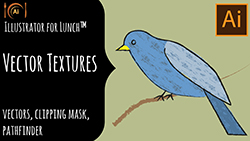 Illustrator for Lunch Vector Textures
