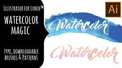 Illustrator for Lunch Watercolor Magic