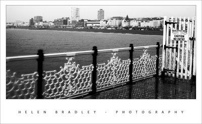 Brighton pier bandw 740947 Brighton Pier