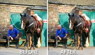 before after 797376 Photoshop: Painting a Photo