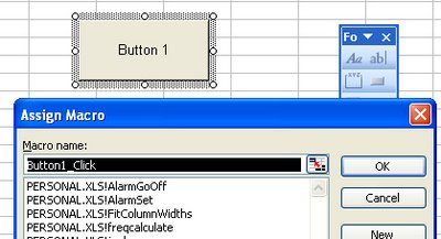button 744744 Put a button on an Excel worksheet