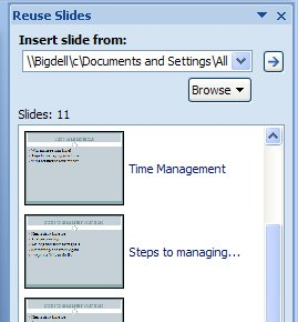 insertslides 762912 Recycle your slide shows   PowerPoint 2007