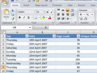 lists 737621 Excel 2007 makes Lovely Lists