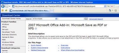 pdf 796451 PDF Writer for Office 2007   free!
