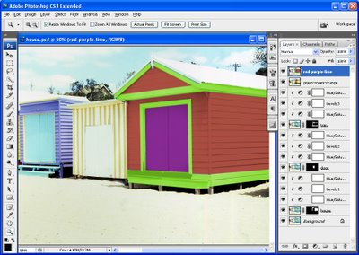 rc step3 786973 Photoshop   change the color of your house