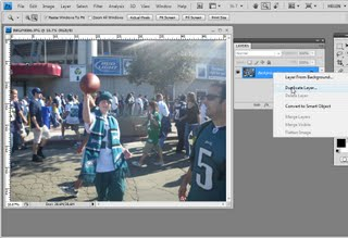 step1 711006 Photoshop   Recover an overexposed image