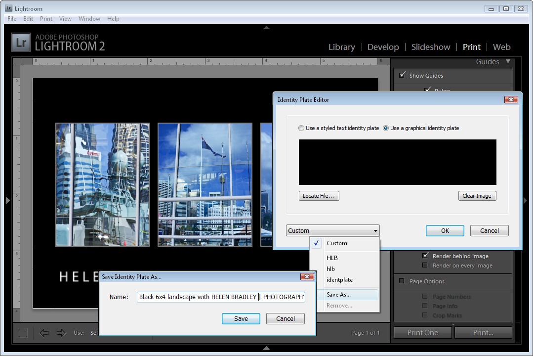 how to use labels in lightroom