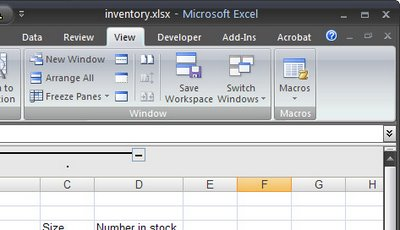 workspace 724902 Excel: Open multiple workbooks
