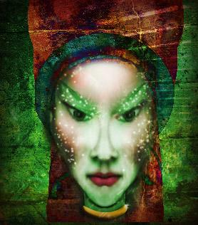 fantasy portrait collage