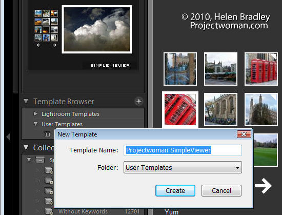 Lightroom slideshow step11 Create a Lightroom Slide Show