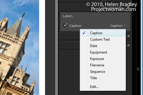 lightroom web slideshow step5 Create a Lightroom Slide Show