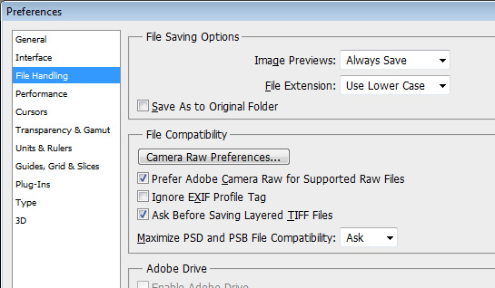 Photoshop CS5 Save As options Worth the price of admission   CS5