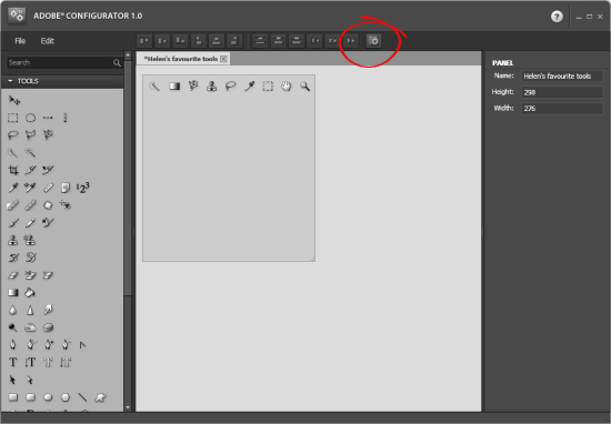 Photoshop Configurator step5 DIY Photoshop Panels using Adobe Configurator