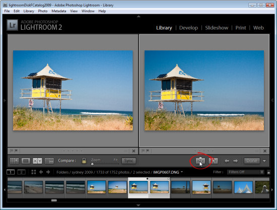 lr compare view step4 Using Lightroom Compare View