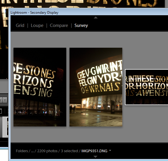 lr surveyview starter Choosing images using Survey view in Lightroom