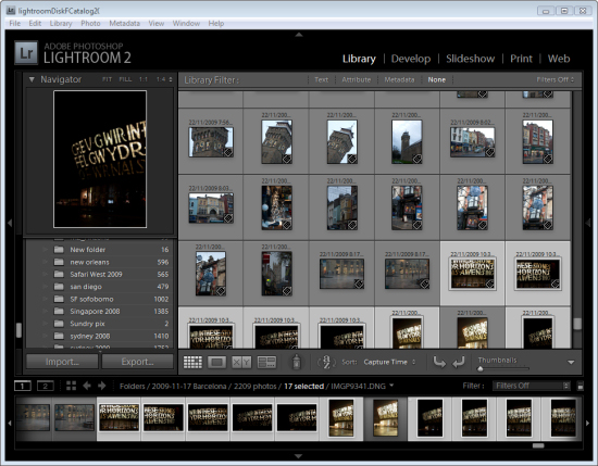 lr surveyview step1 Choosing images using Survey view in Lightroom