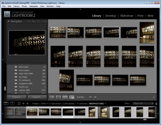 lr surveyview step2 Choosing images using Survey view in Lightroom