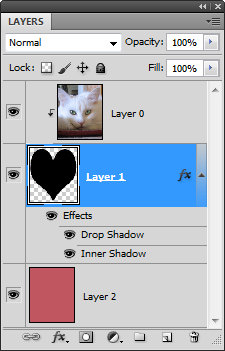 Crop image to valentine heart shape step6 Crop to a Valentine heart shape in Photoshop