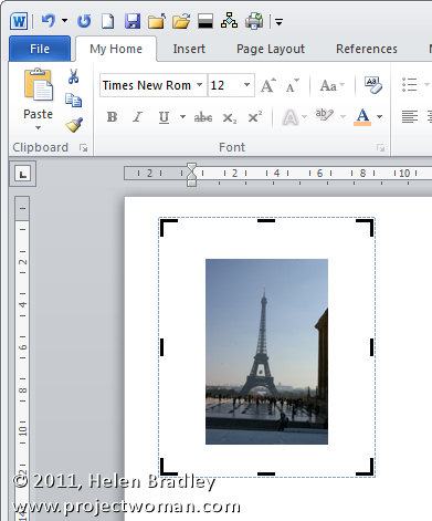 Word 2007 2010 straighten an image step2 Straightening an image in Word 2010