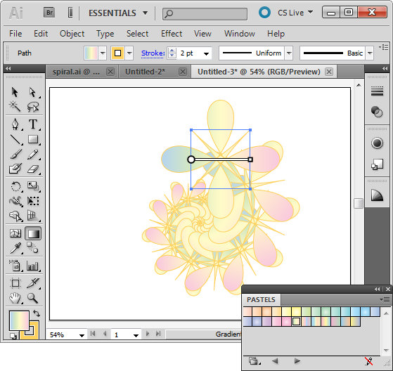 Scale a Gradient in Illustrator CS5 « projectwoman com
